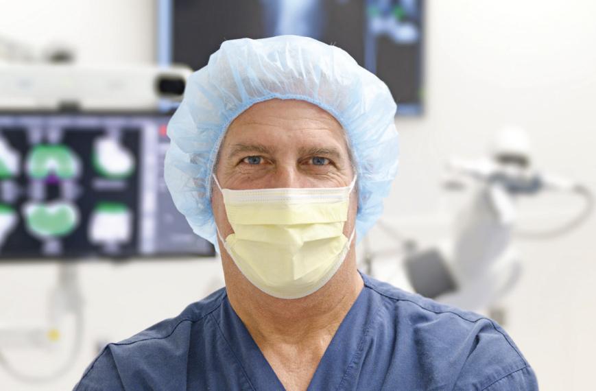 Masked doctor